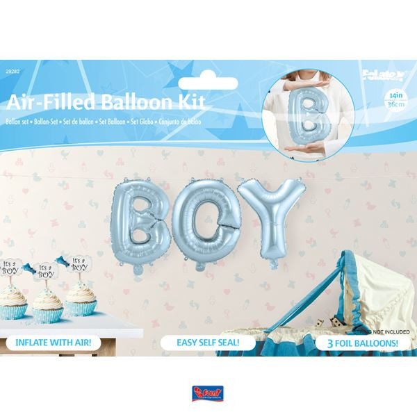 Foil Kit - BOY - Lys Blå - Festbutikken AS