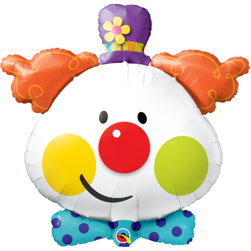 FolieBallong Cute Clown 91 cm - Festbutikken AS
