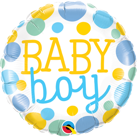 "Folieballong ""Baby Boy"" - Festbutikken AS"
