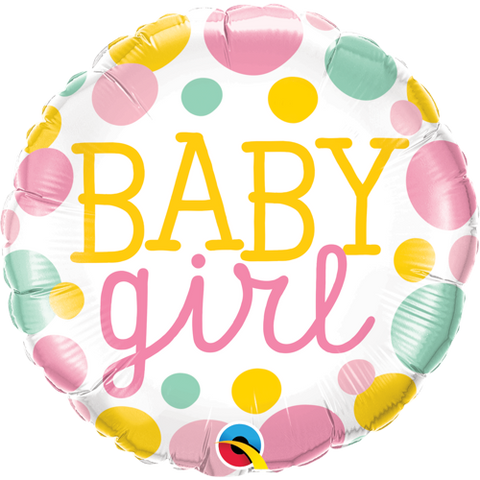 "Folieballong ""Baby Girl"" - Festbutikken AS"