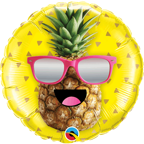 Ballong Mr. Cool Pineapple 46cm - Festbutikken AS