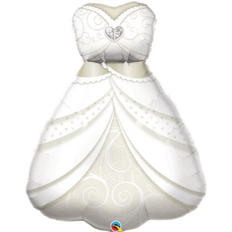 Ballong Bride's Wedding Dress 96cm - Festbutikken AS