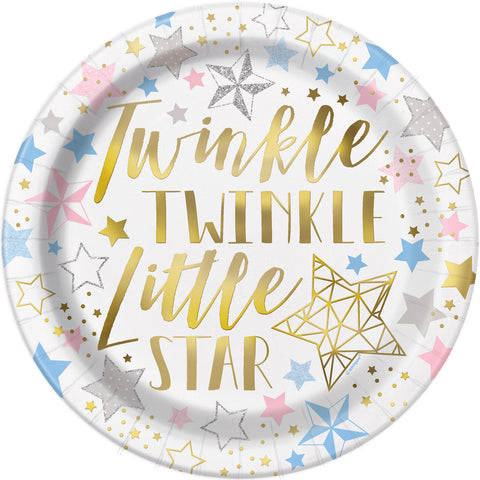 Papptallerken Twinkle Little Star
