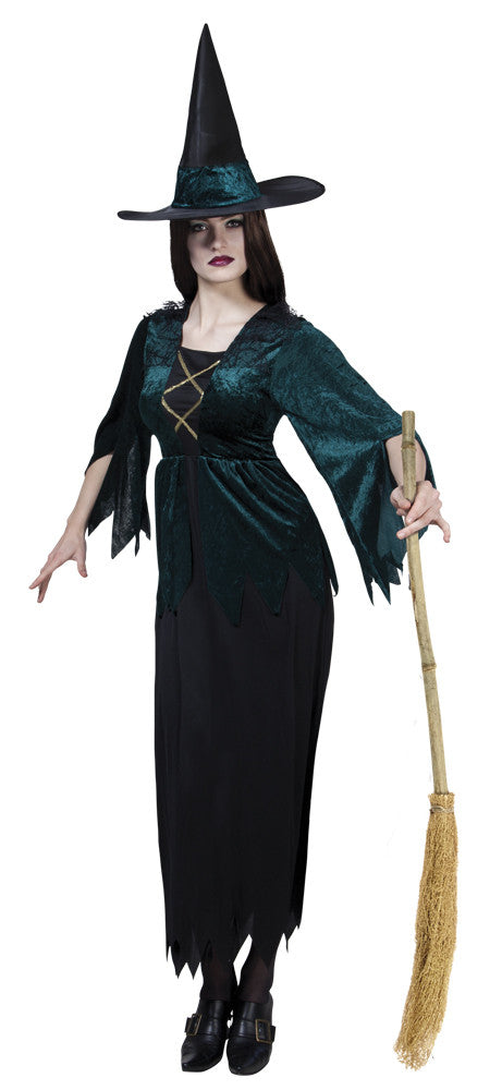 Costume Gothic Witch 40/42 - Festbutikken AS