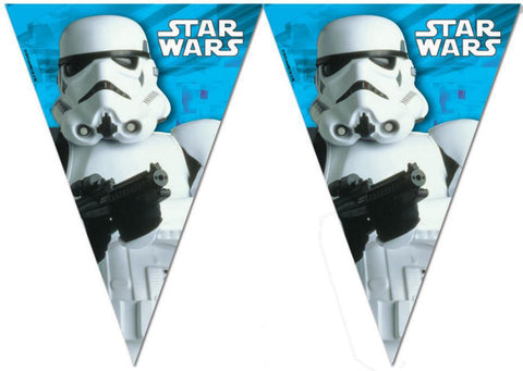 Star Wars Flagg Banner 2,3m - Festbutikken AS