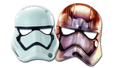 Star Wars The Force Awakens Masker 6-pk - Festbutikken AS