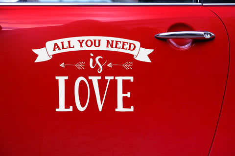 All you need is love - Bildekor - Festbutikken AS