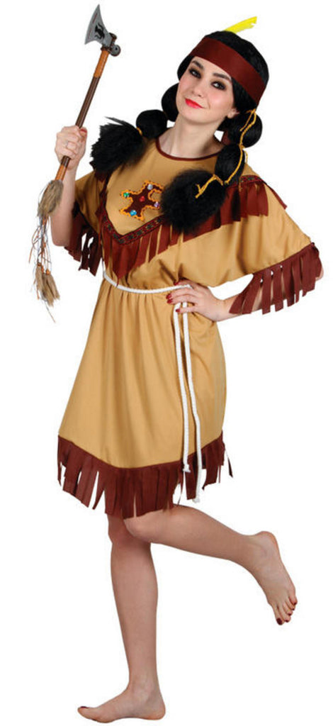 Native American Indianer Kostyme - Festbutikken AS
