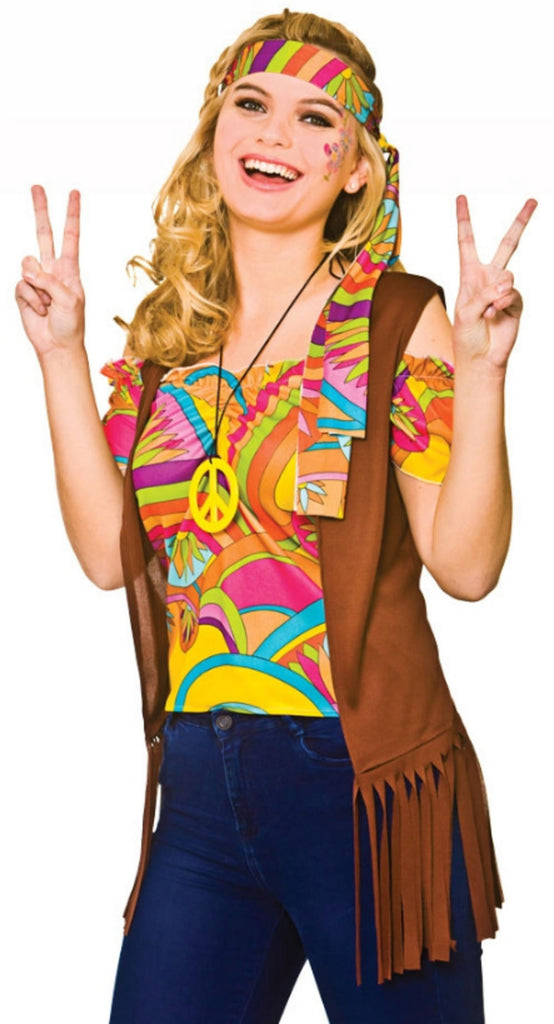 Cool Hippie Kostyme - Festbutikken AS