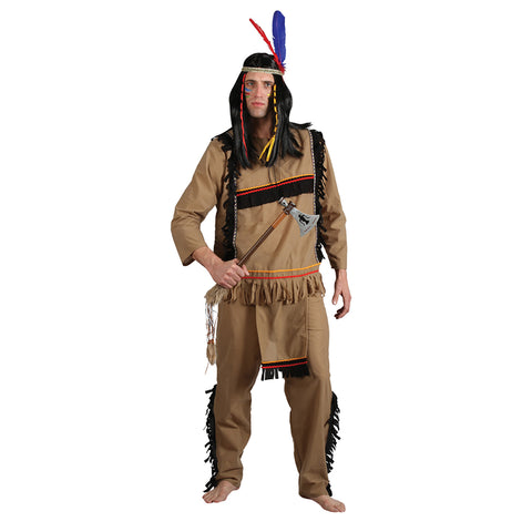 Brave Native American Warrior - Festbutikken AS