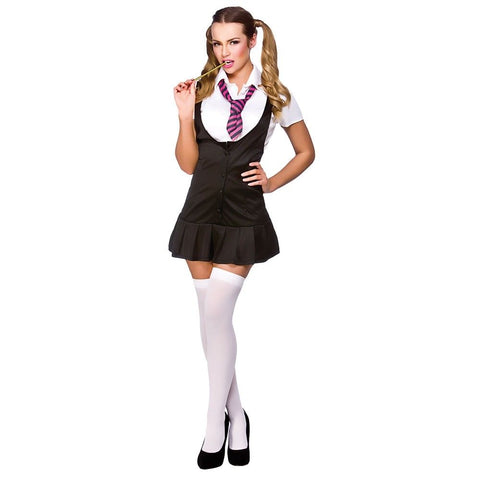 Naughty Schoolgirl Kostyme - Festbutikken AS