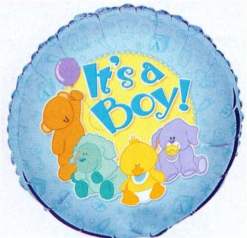 "Folieballong ""It`s a Boy"" Teddy - Festbutikken AS"