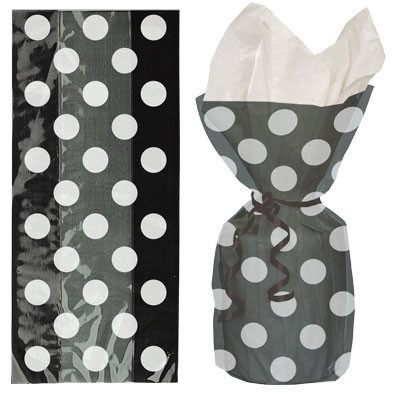 Gaveposer Cellofan Dots 20-pk - Festbutikken AS