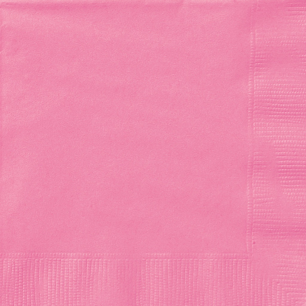 Servietter Hot Pink - Festbutikken AS