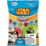 Star Wars Red, Robin's Egg Blue & Lime Green, Pose m/10 ballonger - Festbutikken AS