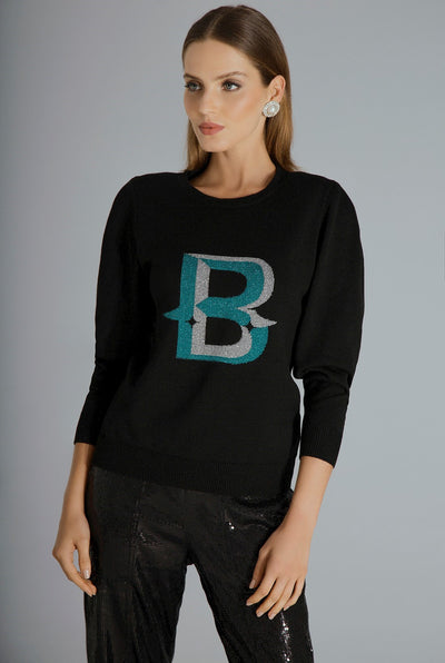 LETTER B - LONG SLEEVE