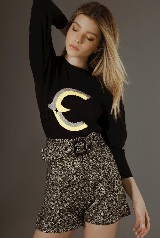 LETTER C - LONG SLEEVE