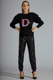 LETTER D - LONG SLEEVE