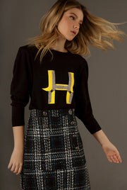 LETTER H - LONG SLEEVE