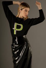 LETTER P - LONG SLEEVE