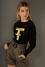 LETTER T - LONG SLEEVE