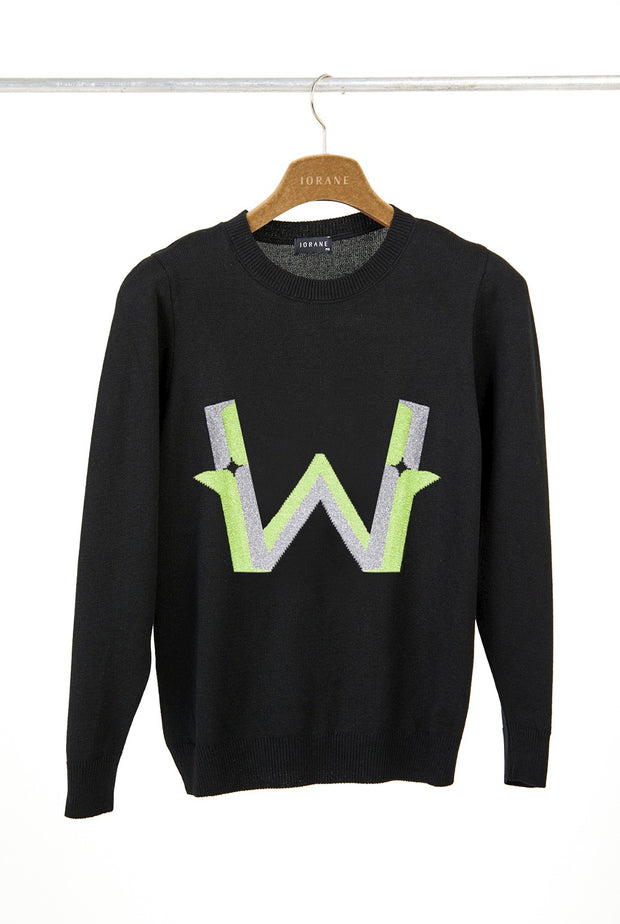 LETTER W - LONG SLEEVE