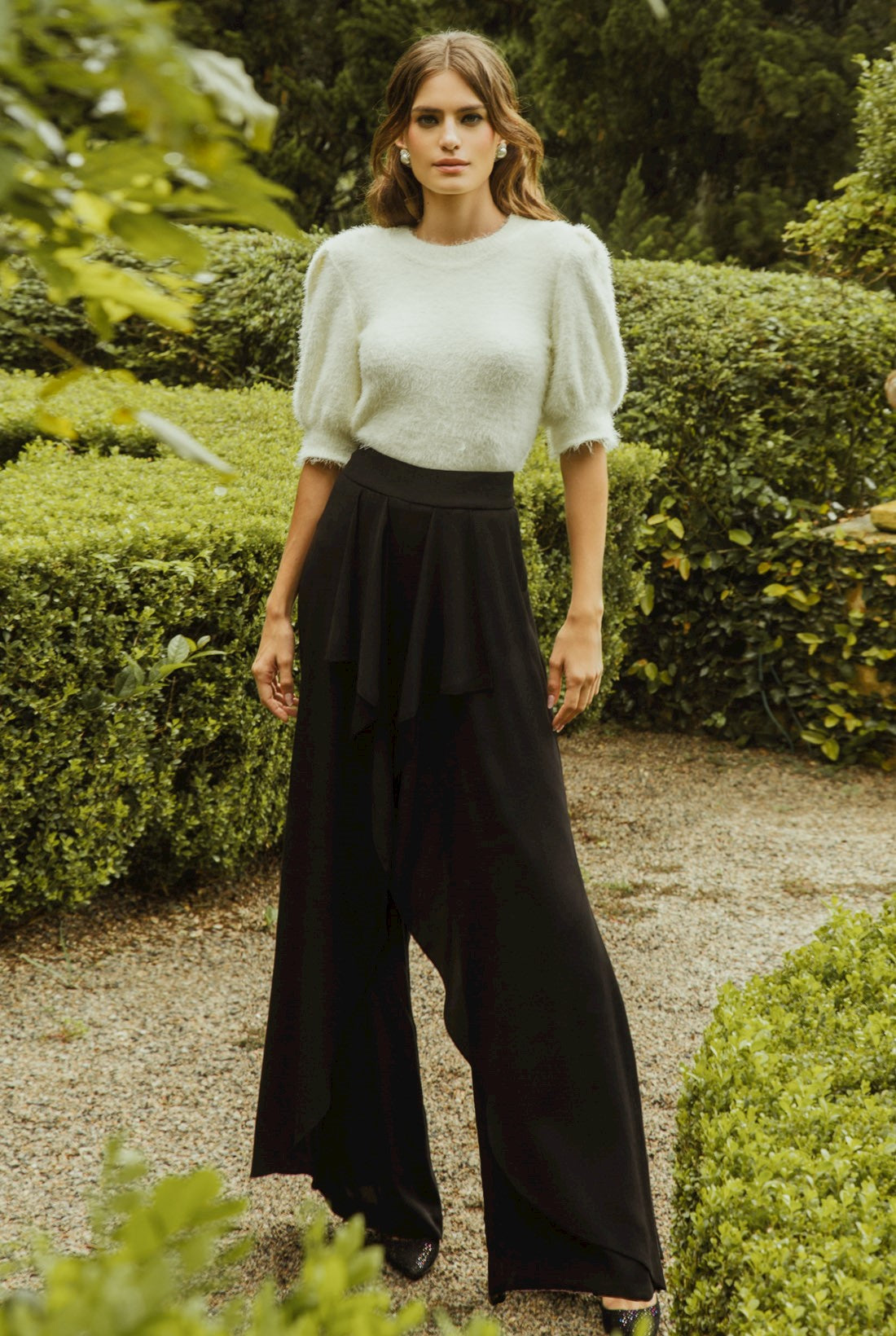 LUCY PANTS - BLACK