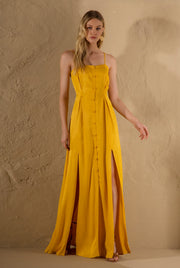 CELY YELLOW MAXI DRESS