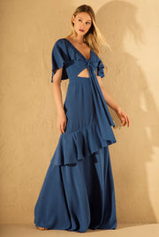 LUZI BLUE MAXI DRESS
