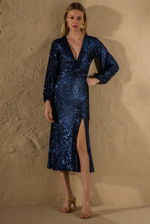 JESSICA SEQUIN DRESS