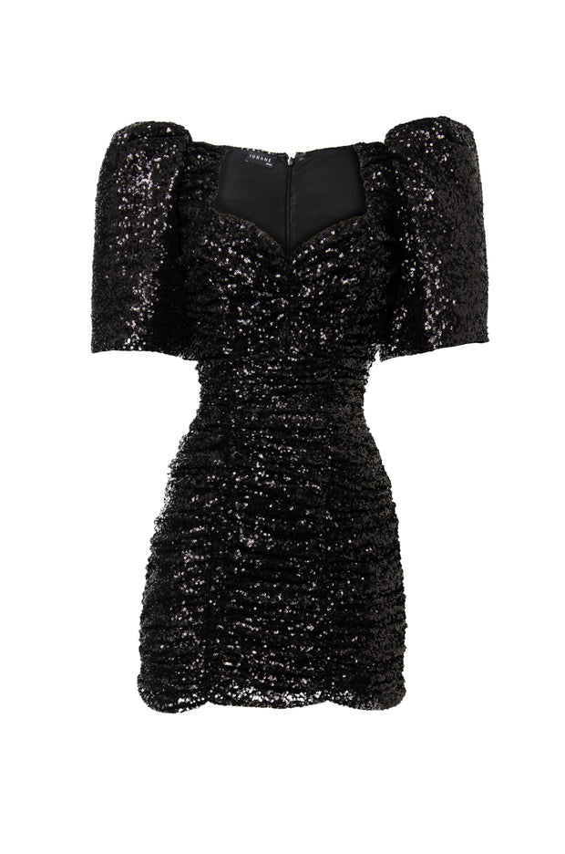 GENNY SEQUIN MINI DRESS