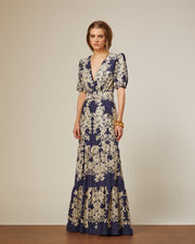 DARK BLUE MAXI DRESS