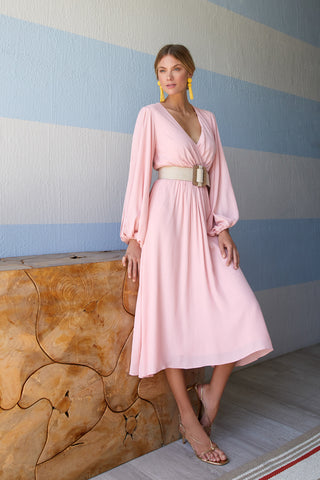 JENNY DRESS - PINK