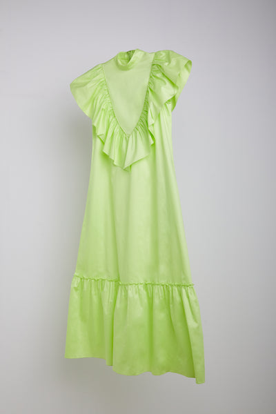 MARIA VITORIA DRESS- LIME