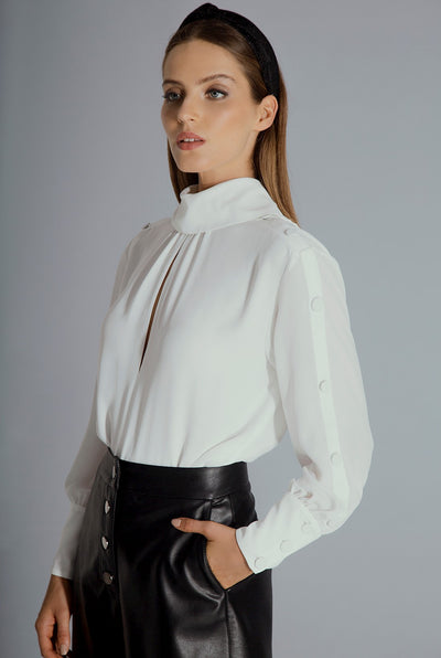 DIANE BLOUSE - WHITE