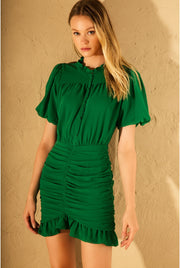 GIGI DRESS GREEN