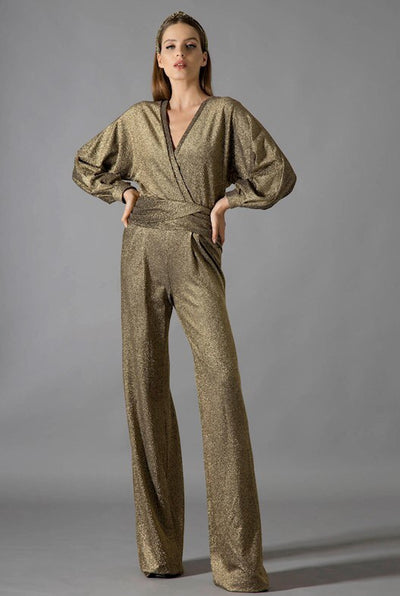 TAMY GOLD JUMPSUIT