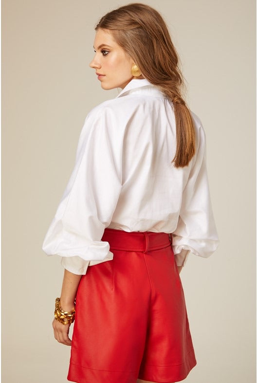 ABBY WHITE BLOUSE