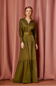 VERITY DRESS - GREEN