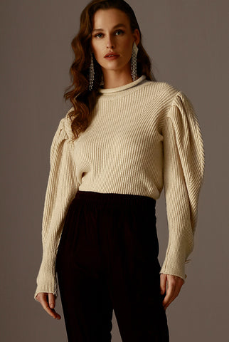 LOREN SWEATER - OFF WHITE