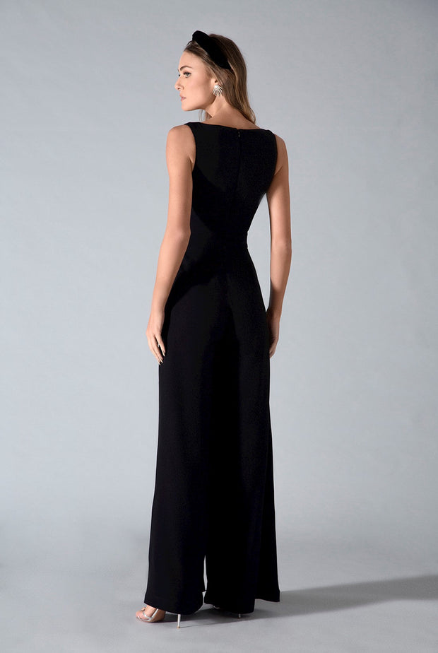 BRIT JUMPSUIT - BLACK