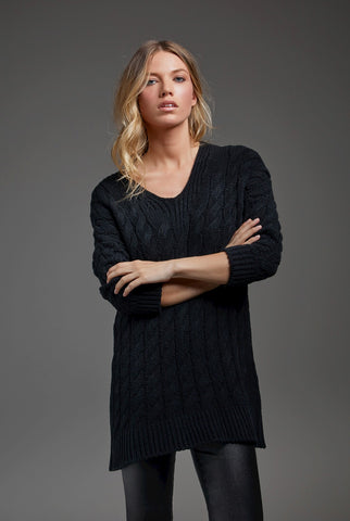 MIRIAM SWEATER - BLACK