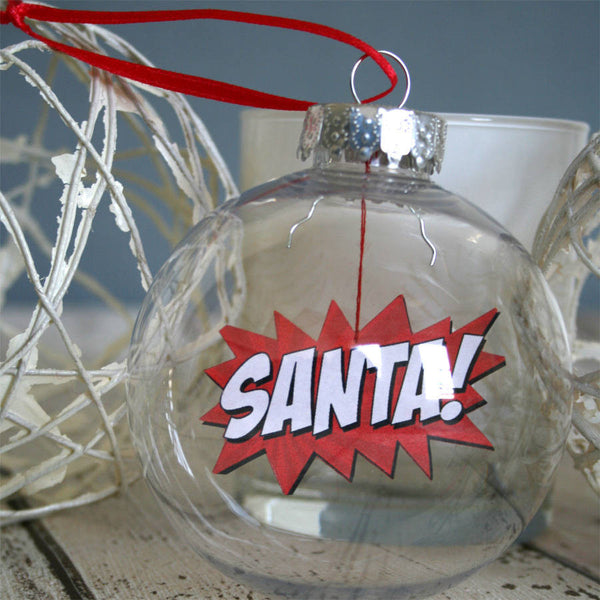 Comic Book Boomble Bauble