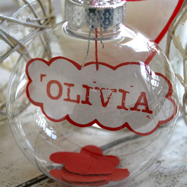 Personalised Name In A Bauble