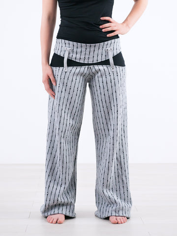Captain Pants ::: Classy Pinstripe Sweat Track Pants