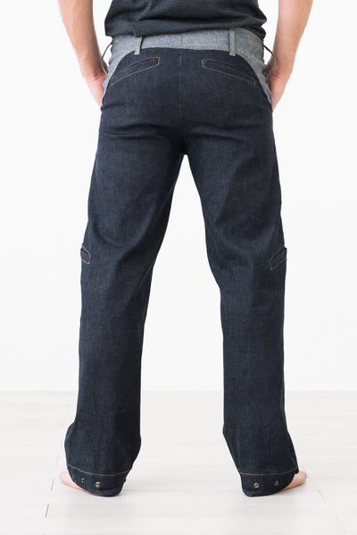 Tintin Bones ::: Straight-Leg Variable Height Jeans