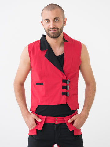 Maximus ::: Asymetrical Suit Vest