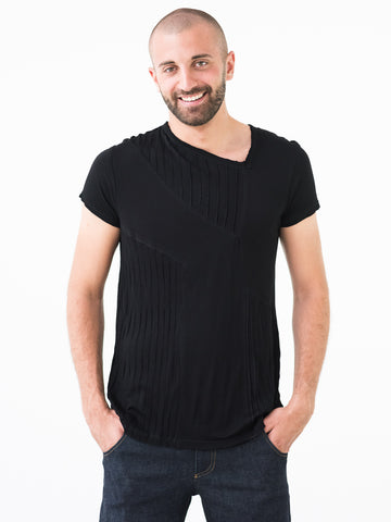 PlayAgain ::: Asymetrical Bamboo T-shirt
