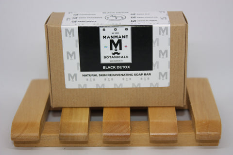 Manmane Black Detox Ethical & 100% Natural skin rejuvinating Soap bar
