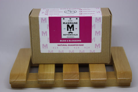 Manmane Buds & Blossoms Ethical & 100% Natural Shampoo bar